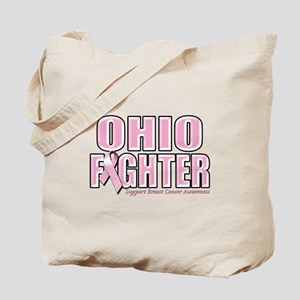 Ohio Breast Cancer Fighter Tote Bag