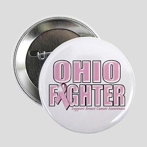 "Ohio Breast Cancer Fighter 2.25"" Button"