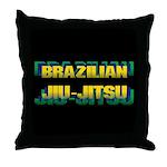 Jiu-Jitsu Throw Pillow