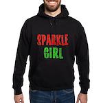 Sparkle Girl Hoodie (dark)