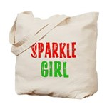 Sparkle Girl Tote Bag
