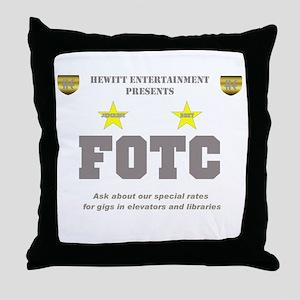 FOTC Throw Pillow