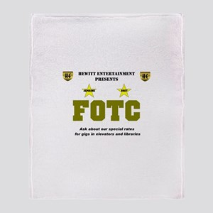 FOTC Throw Blanket