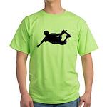 Extreme Skateboarding Green T-Shirt