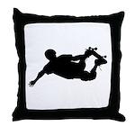 Extreme Skateboarding Throw Pillow