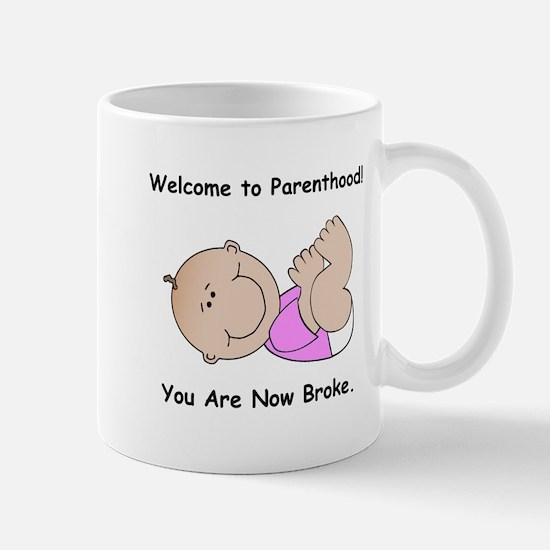 Welcome To Parenthood! STYLE B Mug
