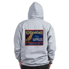 Cottontail Apples Zip Hoodie