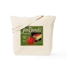 Jim Dandy Apples Tote Bag