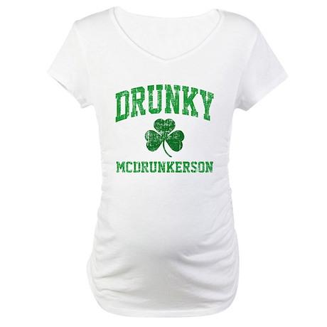 Drunky Maternity T-Shirt