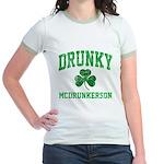 Drunky Jr. Ringer T-Shirt