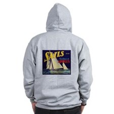 Sails Brand Northeast Apples Zip Hoodie