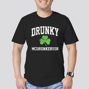 Drunky Men's Fitted T-Shirt (dark)