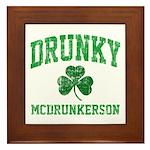 Drunky Framed Tile