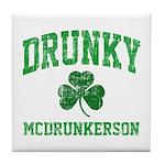 Drunky Tile Coaster