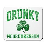 Drunky Mousepad