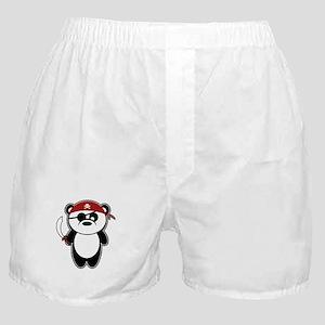 Pirate Panda Boxer Shorts