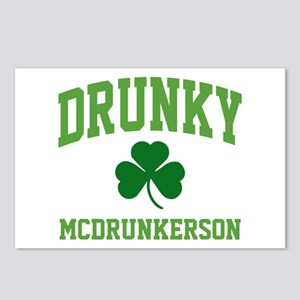 Drunky Postcards (Package of 8)
