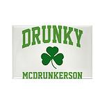 Drunky Rectangle Magnet (10 pack)