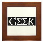 GEEK Framed Tile