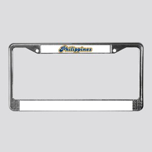 Philippines Retro License Plate Frame