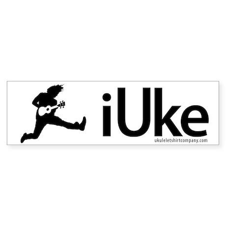 iUke Products Sticker (Bumper)