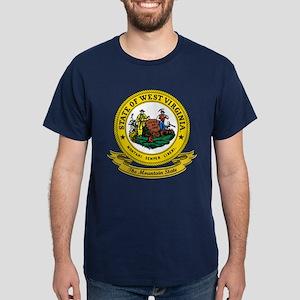 West Virginia Seal Dark T-Shirt