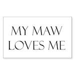 My Maw Sticker (Rectangle)