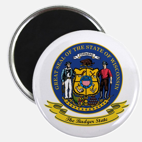 Wisconsin Seal Magnet