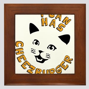 I Can Has Cheezburger Framed Tile