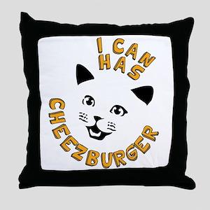I Can Has Cheezburger Throw Pillow