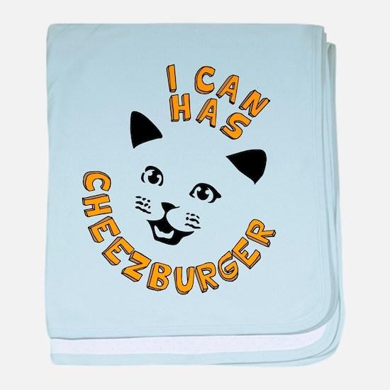 I Can Has Cheezburger baby blanket