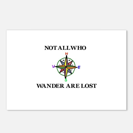 All Who Wander Postcards (Package of 8)