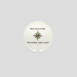 All Who Wander Mini Button