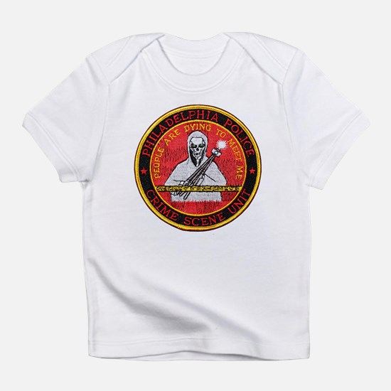 Philadelphia PD Crime Scene U Infant T-Shirt