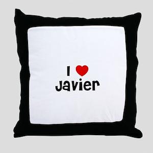 I * Javier Throw Pillow
