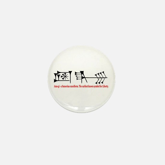 Ama-gi - Liberty Mini Button