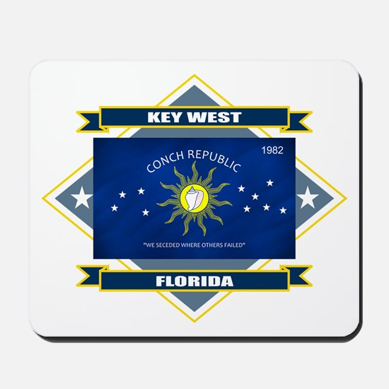 Key West Flag Mousepad