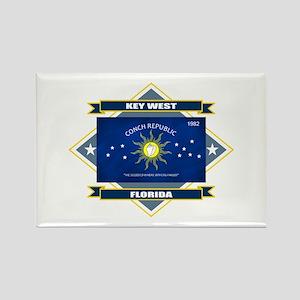 Key West Flag Rectangle Magnet