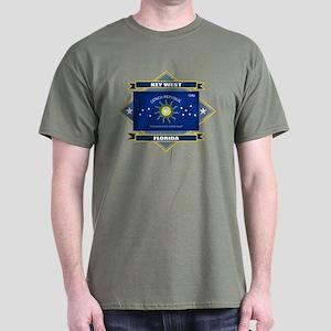 Key West Flag Dark T-Shirt