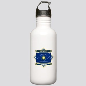 Key West Flag Stainless Water Bottle 1.0L