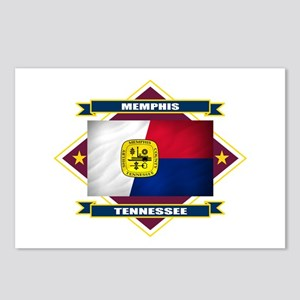 Memphis Flag Postcards (Package of 8)