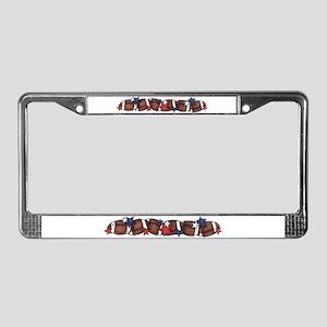 Sporty License Plate Frame