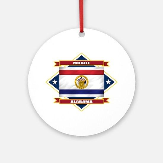 Mobile Flag Ornament (Round)