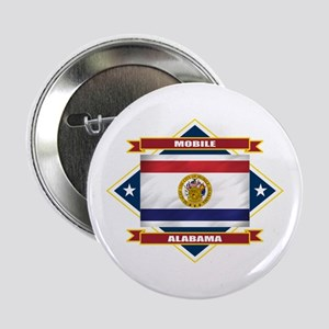 "Mobile Flag 2.25"" Button"
