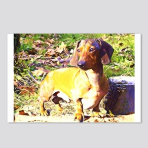 Plotting Mini Doxie Postcards (Package of 8)