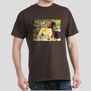 Plotting Mini Doxie Dark T-Shirt