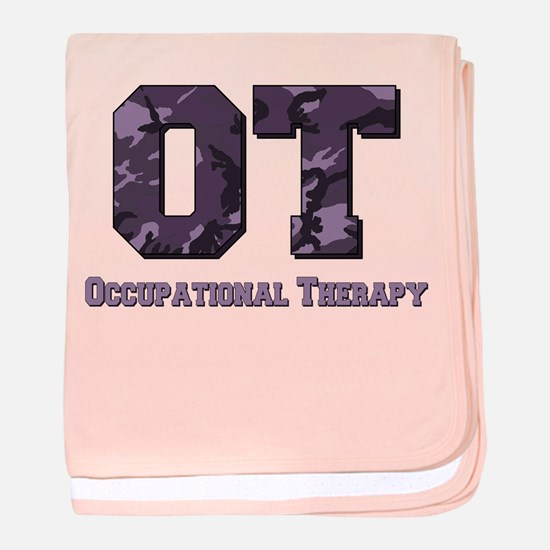 Unique Occupational therapy baby blanket