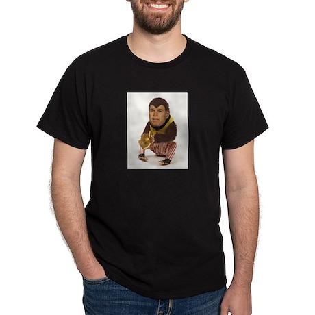 Monkeyboy Bush Black T-Shirt