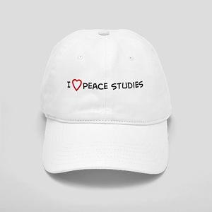 I Love Peace Studies Cap