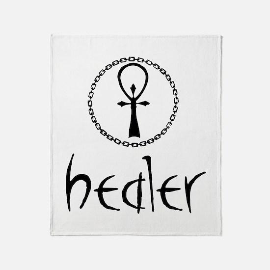 Healer Throw Blanket